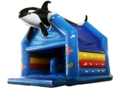 Orca Bouncer Castle Moonwalk