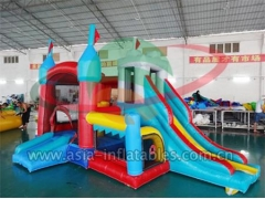 4 In 1 Inflatable Mini Bouncer Combo & Coustomized Yours Today