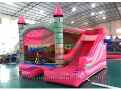 Custom Inflatable Inflatable Jumping Castle With Mini Slide