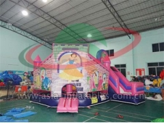 Promotional Inflatable Pink Princess Mini Bouncer in Factory Wholesale Price