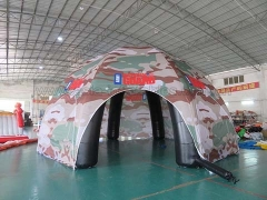 Hot Selling Event Inflatables Custom Military Tent Inflatable Spider Dome Tent in Factory Price