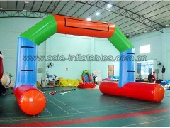 Fantastic Durable PVC Tarpaulin water floating Inflatable airtight arch for advertising