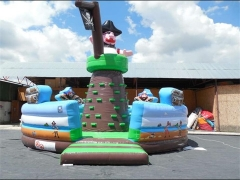 Pirate Mountain Climb,Inflatable Rock Climbing Wall & Interactive Sports Games