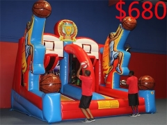Fantastic Shooting Stars Inflatable Basketball game