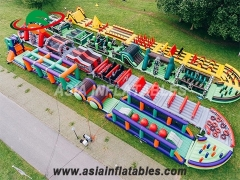 Inflatable Assault Obstacle Courses
