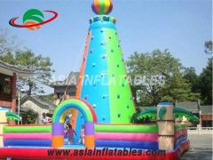 Amazing Inflatable Games, Inflatable Rock Climbing Wall Tower & Interactive Sports Games